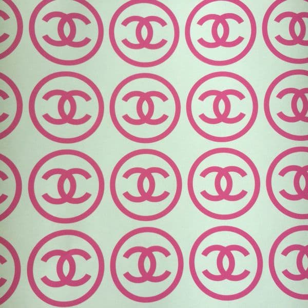 20 x Coco Chanel Logo Stickers 4in x 4in each - Choice Of Colour :)